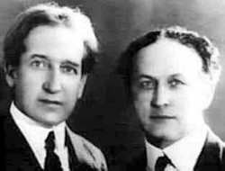 Howard Thurston and Harry Houdini